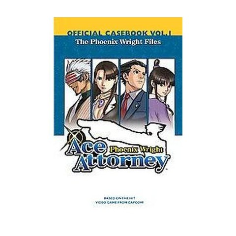 Phoenix Wright Ace Attorney Official Casebook 1 (Paperback)