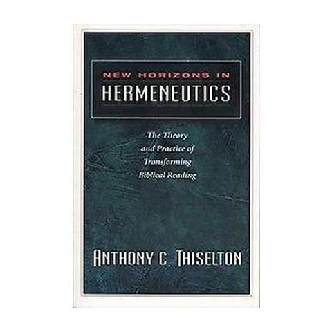 New Horizons in Hermeneutics (Paperback)