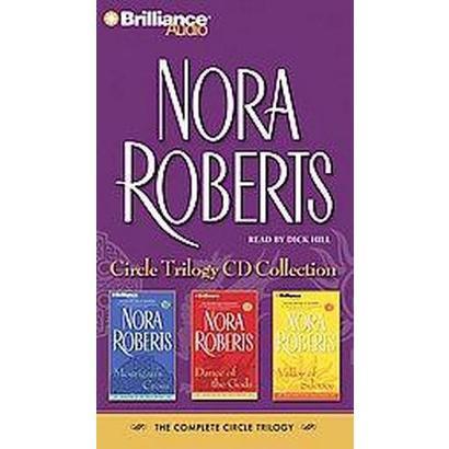 Nora Roberts Circle Trilogy CD Collection (Abridged) (Compact Disc)