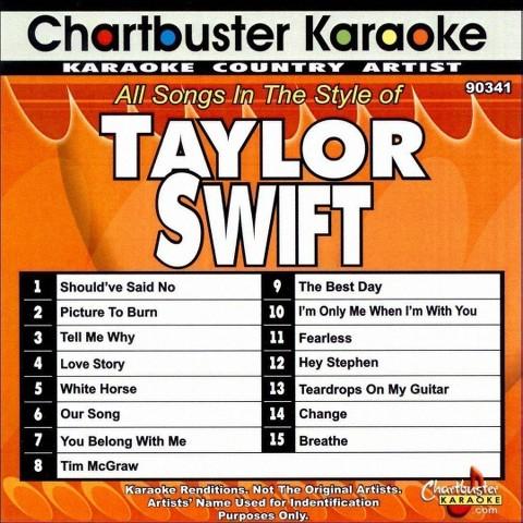 Chartbuster Karaoke: Taylor Swift (2009)