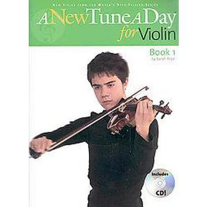 A New Tune a Day for Violin (Mixed media product)