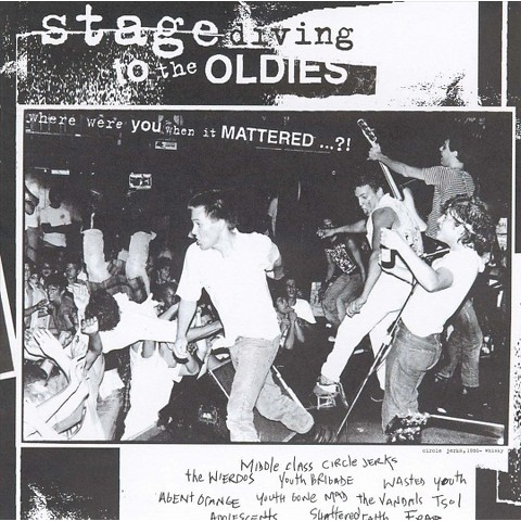 Stage Diving to the Oldies