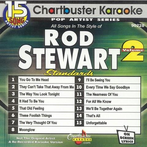 Chartbuster Karaoke: Rod Stewart, Vol. 2