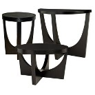 Modern Tables Black Collection