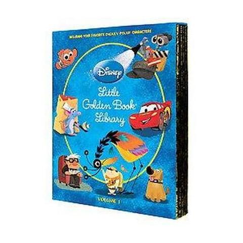 Disney/Pixar Little Golden Book Library (Hardcover)