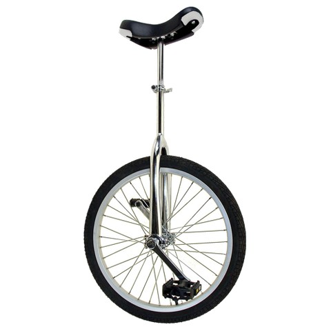 "Mighty Adult 20"" Unicycle - Chrome"