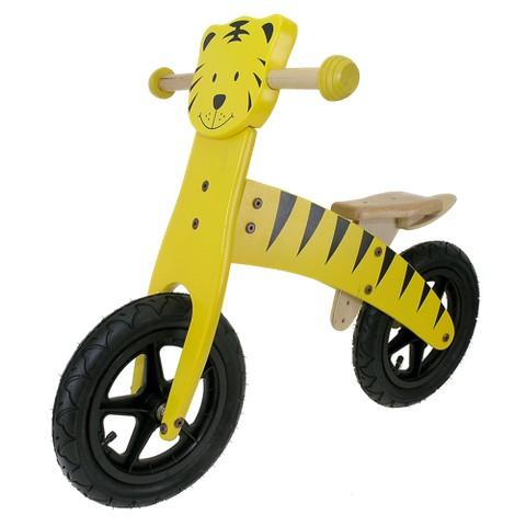 M-Wave Kid's Wooden Running Bike - Tiger