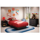 Simply Basics Bedroom Furniture Collection Black - South Shore
