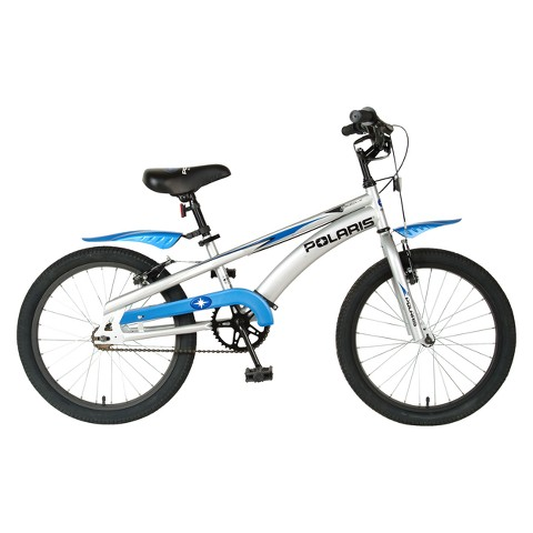 "Polaris Kid's Edge LX200 20"" Boys Bike - Blue/White"