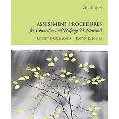 Assessment Procedures for Counselors and Helping Professionals (Mixed media product)