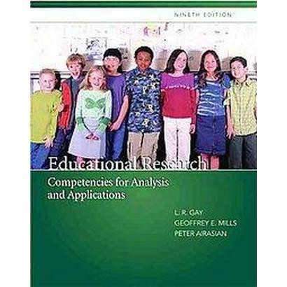 Educational Research, Competencies for Analysis and Applications (Mixed media product)