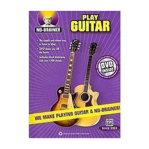 No-brainer Play Guitar (Mixed media product)