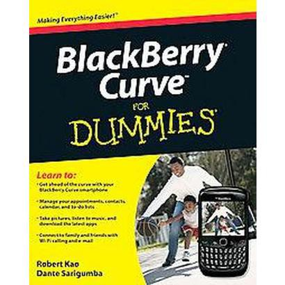 BlackBerry Curve For Dummies (Paperback)