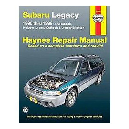 subaru legacy automotive repair manual haynes automotive. Black Bedroom Furniture Sets. Home Design Ideas