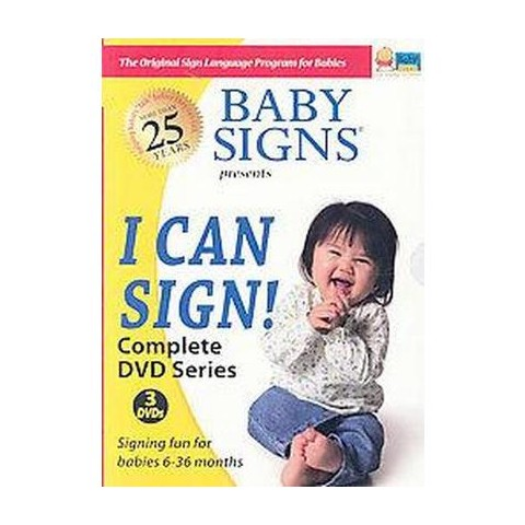 Baby Signs I Can Sign! (DVD)