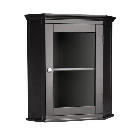 Elegant Home Fashions Ashland Wall Cabinet - Dark Espresso