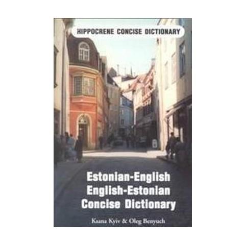 Estonian-English English-Estonian Dictionary (Paperback)