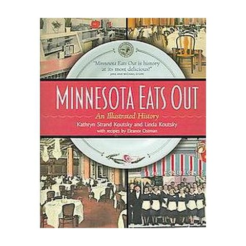 Minnesota Eats Out (Hardcover)