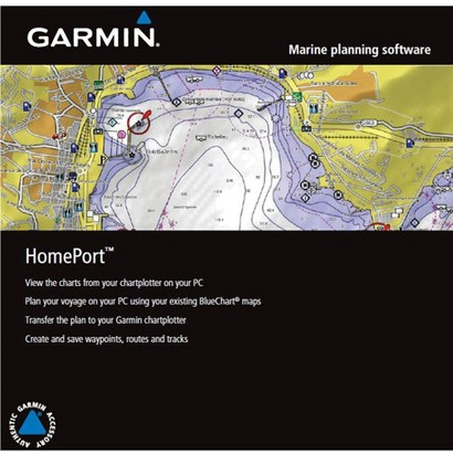 Garmin Homeport Marine Planning Software MicroSD Card (010-11423-00)