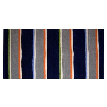 "Circo® Stripe Rug - Blue (48x70"")"