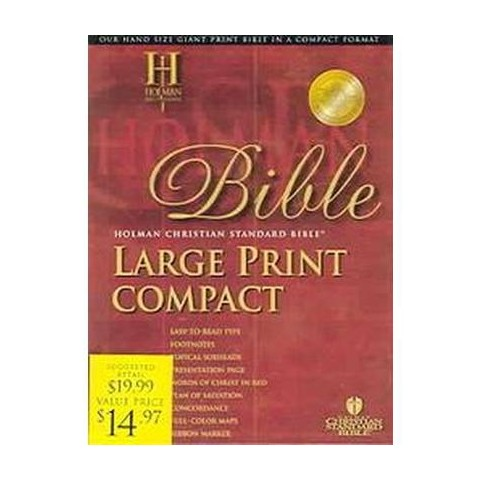 Holy Bible (Large Print) (Paperback)