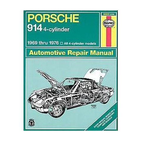 Porsche 914 Automotive Repair Manual (Paperback)