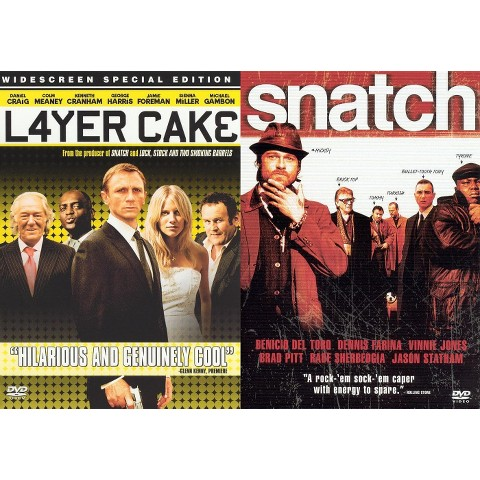 Layer Cake/Snatch (2 Discs) (Widescreen) (Dual-layered DVD)