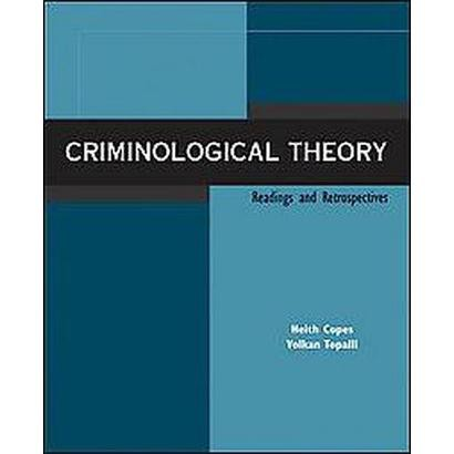 essays on criminological theory Learning theory began in 1930's and to the present created by edwin sutherland, robert burgess, ronald l akers, and daniel glaser actions are learned, and.