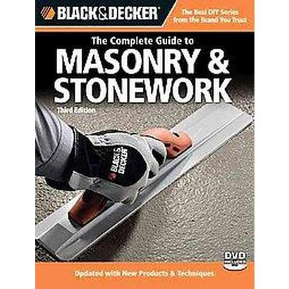 The Complete Guide to Masonry & Stonework (Mixed media product)