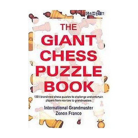 The Giant Chess Puzzle Book (Paperback)