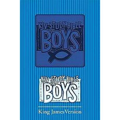 KJV Study Bible for Boys (Hardcover)