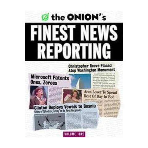 The Onion's Finest News Reporting (Paperback)