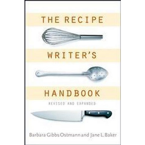 The Recipe Writer's Handbook (Revised / Updated) (Paperback)