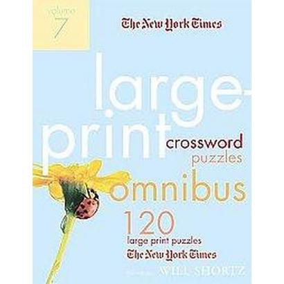 The New York Times Large-print Crossword Puzzle Omnibus (7) (Paperback)