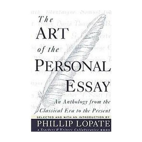 The Art of the Personal Essay (Paperback)