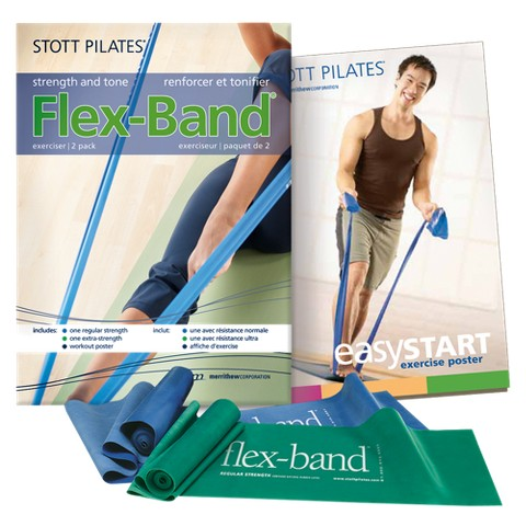 STOTT PILATES Flex-Band 2-pk.