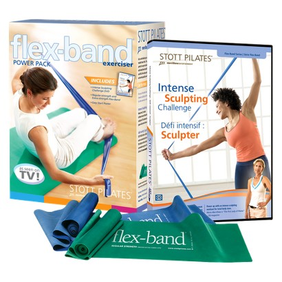 STOTT PILATES Flex Band Power Pack