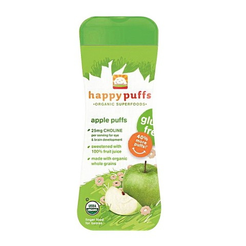 Happy Baby Organic Apple Puffs (6 Pack)
