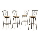 Landen Cross-Back Barstools Collection