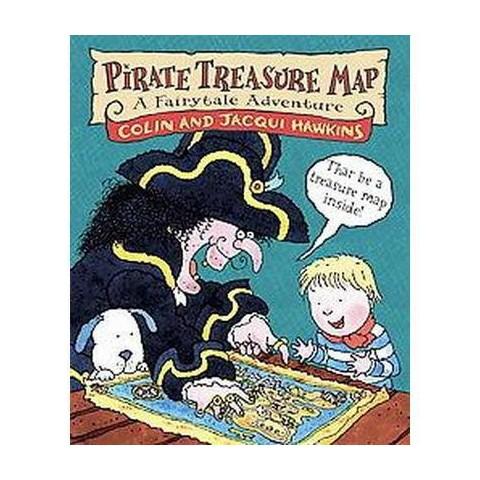 Pirate Treasure Map (Hardcover)