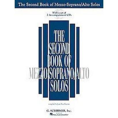 The Second Book of Mezzo-soprano/alto Solos (Mixed media product)