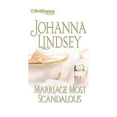 Marriage Most Scandalous (Abridged) (Compact Disc)