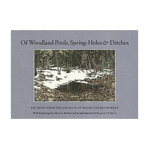 Of Woodland Pools, Spring-Holes & Ditches (Hardcover)