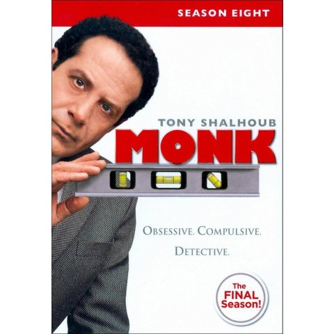 Monk: Season Eight (4 Discs) (Widescreen)