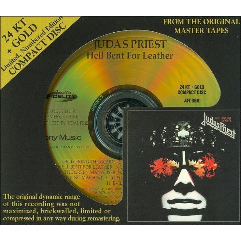 Hell Bent for Leather (Gold Disc)