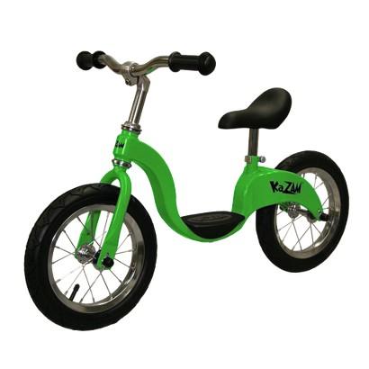 """KaZAM Boys 12"""" Balance Bike -Green"""