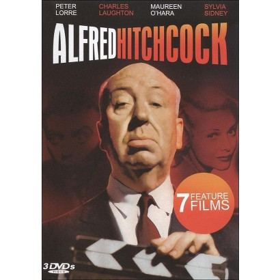 Alfred Hitchcock: 7 Feature Films (3 Discs)