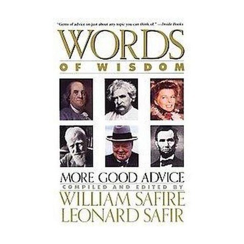Words of Wisdom (Reprint) (Paperback)