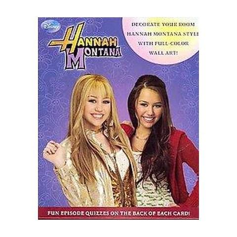 Hannah Montana Wall Art Cards (Hardcover)
