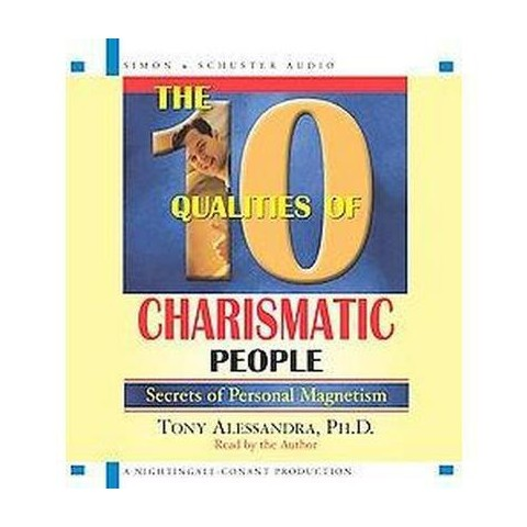 The 10 Qualities of Charismatic People (Abridged) (Compact Disc)